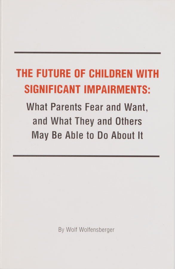 The Future of Children with Significant Impairments